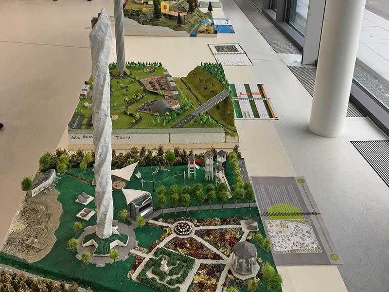 Projektarbeit Modell Thyssen-Krupp-Testturm in Rottweil